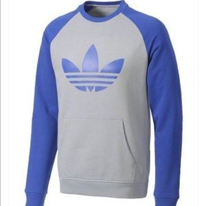 Adidas sport lite crew pull over sweater size XL
